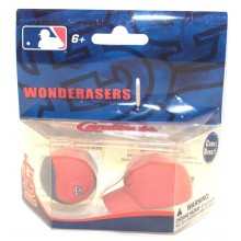 MLB Officially Licensed St.Louis Cardinals Separating Ball & Cap Erasers