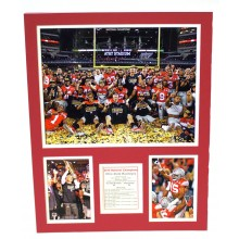 "NCAA Officially Licensed Ohio State Buckeyes ""Celebration"" Double Matte Photo..."