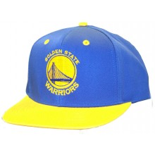 Golden State Warriors Two Tone Embroidered Flatbill Adjustable Hat