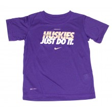 NCAA Licensed Washington Huskies YOUTH Dri-Fit T-Shirt (Size 4)
