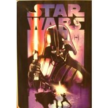 "Disney's Star Wars, ""Darth Night"" Micro Raschel Throw Blanket, 46"" x 60"""
