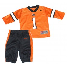 NCAA Licensed Oregon State Beavers 2 Piece Pant and Jersey Set (3-6 Months)