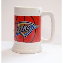 NBA Officially Licensed Stein Mug Cup (Oklahoma City Thunder)
