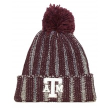 NCAA Officially Licensed Texas A&M Aggies Knit Cuffed Pom Beanie Hat