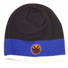 NBA Officially Licensed New York Knicks Thick Stripe Beanie Hat Cap Lid