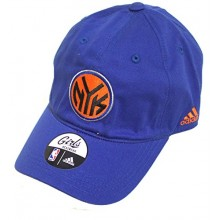 NBA Licensed New York Knicks Girls Orange/Blue Logo Hat Cap