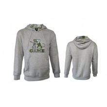 A-Game Camo Open Water Hoodie Envy Green Water Repellent