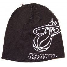 NBA Officially Licensed Miami Heat Hype Logo Beanie Hat Cap Lid Toque