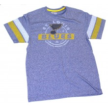 "NHL Licensed St. Louis Blues ""Past The Limit"" Short Sleeve Shirt"