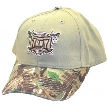 NCAA Officially Licensed Troy Trojans Embroidered Logo Camo Baseball Style Hat Cap