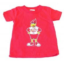 MLB Licensed St. Louis Cardinals Fredbird INFANT Shirt (6 Months)