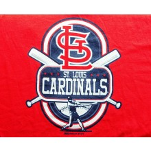 MLB Licensed St Louis Cardinals 2013 Sleeveless Youth T-Shirt (Large)