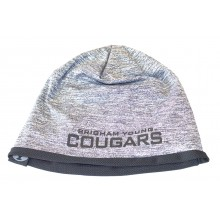 NCAA Officially Licensesd Brigham Young Cougars Heathered Grey Forecast Beanie