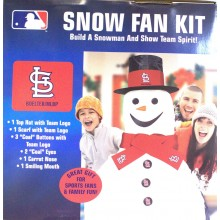 MLB Officially Licensed St. Louis Cardinals Snow Fan Kit