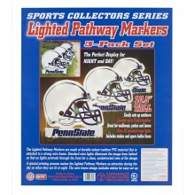 NCAA Officially Licensed Penn State Nittany Lions 3 pack Lighted Pathway Markers
