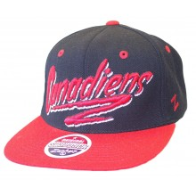 Montreal Canadiens Blaze Adjustable Flat Bill Hat
