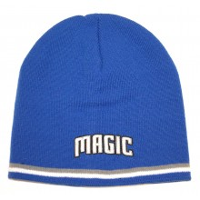 NBA Officially Licensed Orlando Magic 2 Stripe Beanie Hat Cap Lid Skull