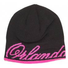Orlando Magic  Black and Pink Fleece Lined Beanie
