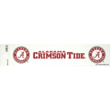 "Alabama Crimson Tide 2"" X 10"" Bumper Sticker"