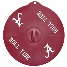 "Alabama Crimson Tide 9"" Silicone Lid"