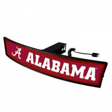 Alabama Crimson Tide  Light Up Trailer Hitch Cover
