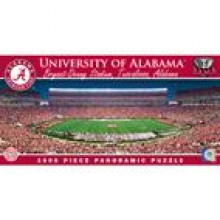 Alabama Crimson Tide 1000 Piece Panoramic Puzzle