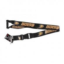 NHL Anaheim Ducks Team Color Breakaway Lanyard Key Chain