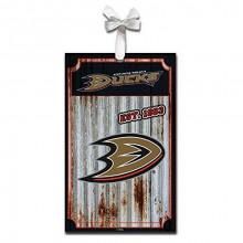 Anaheim Ducks Corrugated Metal Sign Ornament