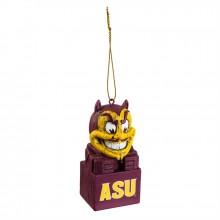 Arizona State Sun Devils Tiki Mascot Ornament