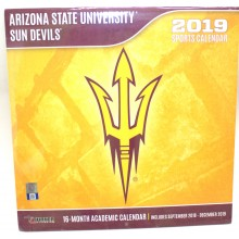 Arizona State Sundevils 12 x 12 Wall Calendar (2019)