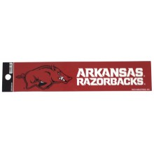 "Arkansas Razorbacks 2"" X 10"" Bumper Sticker"