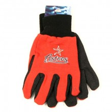 MLB Houston Astros Team Color Utility Gloves