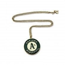 Oakland A's Logo Chain Necklace