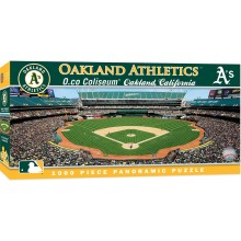 Oakland A's 1000 Pc. Panoramic Puzzle