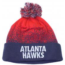 Atlanta Hawks Mitchell and Ness Speckle Pom Cuff Beanie