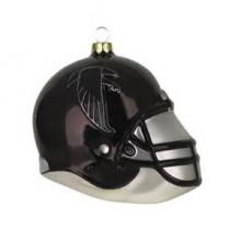 Atlanta Falcons Blown Glass Team Helmet Ornament