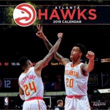 Atlanta Hawks 12 x 12 Wall Calendar