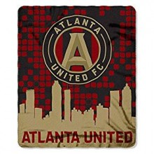 Atlanta United FC Light Weight Fleece Blanket