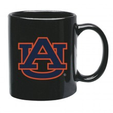 Auburn Tigers 15 oz Black Ceramic Coffee Cup