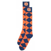 Auburn Tigers Argyle Dress Socks