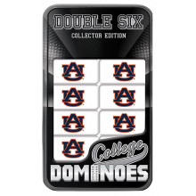 Auburn Tigers Collectors Edition Double Six Dominoes