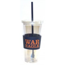 "Auburn Tigers ""War Eagles"" 22 oz Slogan Tumbler"