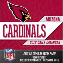 Arizona Cardinals 2019 Boxed Desk Calendar