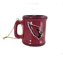 Arizona Cardinals Ceramic Mini Mug Ornament