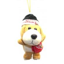 Arizona Cardinals 4 inch Plush Dog Ornament