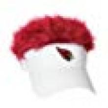 Arizona Cardinals Flair Hair Adjustable Visor