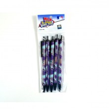 Arizona Diamondbacks Purple 5 Count Click Pens