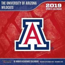 Arizona Wildcats 12 x 12 Wall Calendar (2019)
