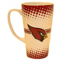 Arizona Cardinals 16-ounce Sculpted Latte Mug