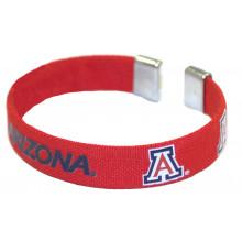Arizona Wildcats Ribbon Band Bracelet
